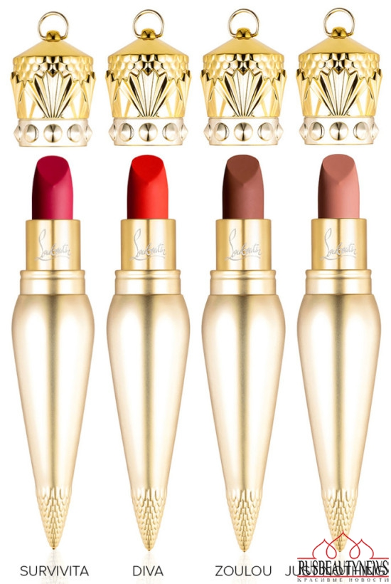 Christian Louboutin Lip Colour Collection matt1