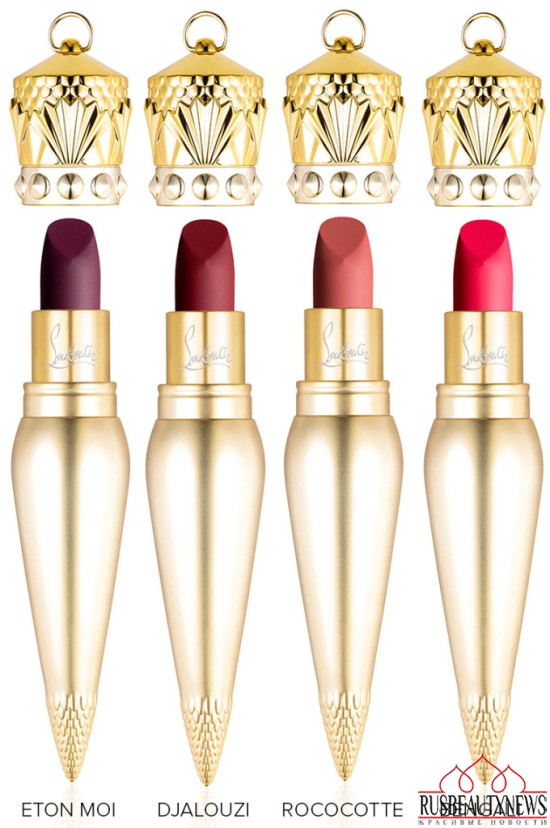 Christian Louboutin Lip Colour Collection matt2