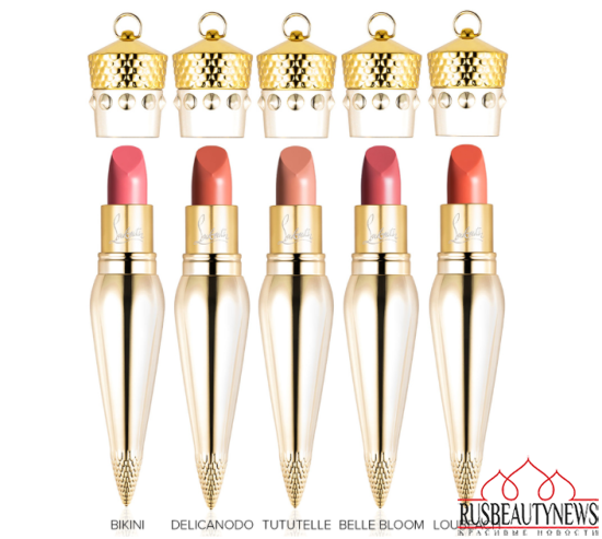 Christian Louboutin Lip Colour Collection satin2