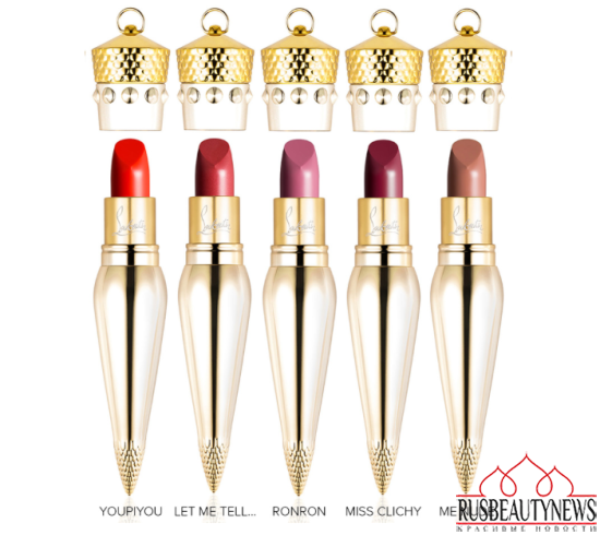 Christian Louboutin Lip Colour Collection satin3