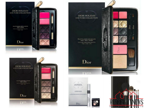 Dior Holiday 2015 Couture Palettes & Sets