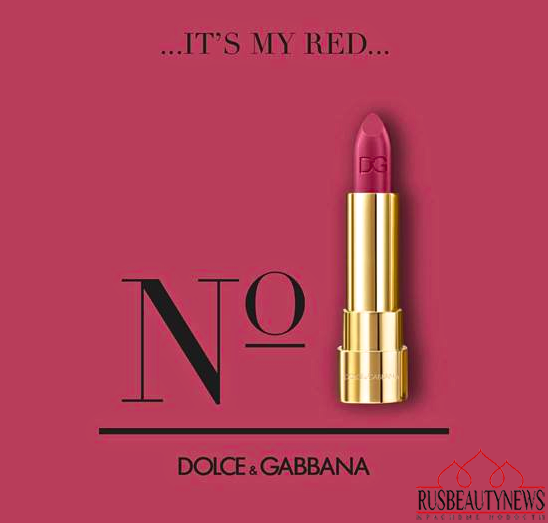 Dolce&Gabbana Sophia Loren No.1 Lipstick