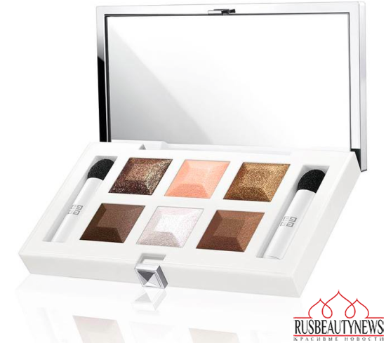 Givenchy Les Nuances Glacées Holiday 2015 Collection palette
