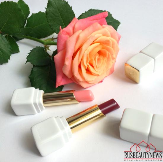 Guerlain Kiss Kiss RoseLip 371 Morning Rose and 374 Wonder Violette Review