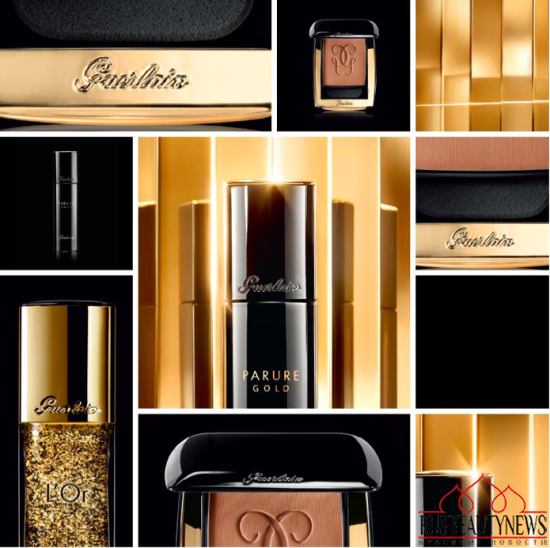 Guerlain Parure Gold Foundation for Fall 2015