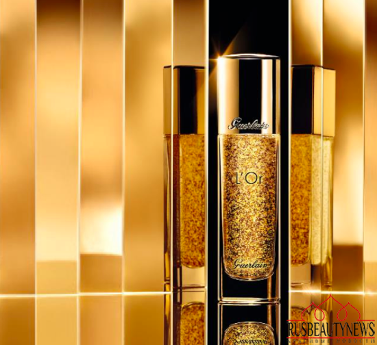 Guerlain Parure Gold Foundation for Fall 2015 base