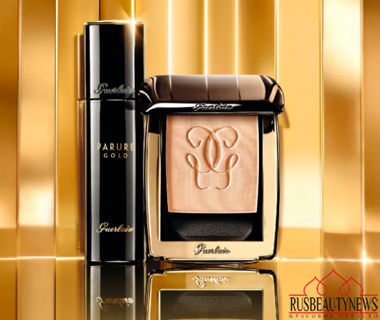 Guerlain Parure Gold Foundation for Fall 2015 foundation