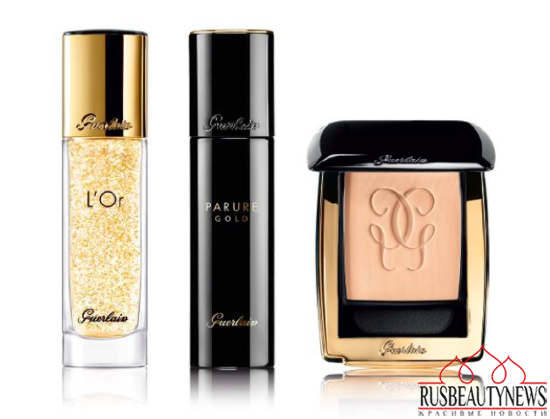 Guerlain Parure Gold Foundation for Fall 2015 look1
