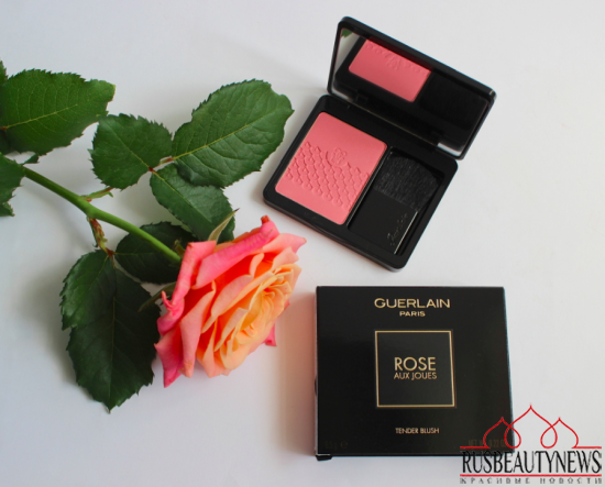Guerlain Rose Aux Joues 01 Morning Rose Blush Review