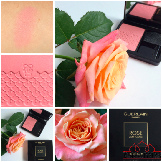 Guerlain Rose Aux Joues 01 Morning Rose Blush Review look1