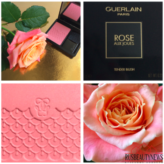 Guerlain Rose Aux Joues 01 Morning Rose Blush Review look2