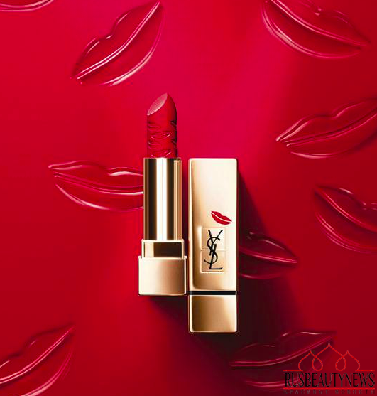 YSL Rouge Pur Couture Kiss & Love Fall 2015 Makeup Collection look2