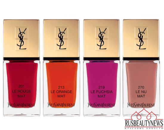 YSL Rouge Pur Couture Kiss & Love Fall 2015 Makeup Collection nail