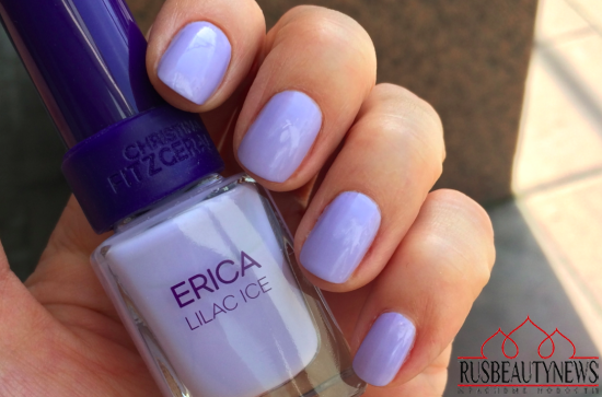 Christina Fitzgerald Fall 2015 Collection- Erica Lilac Ice Review