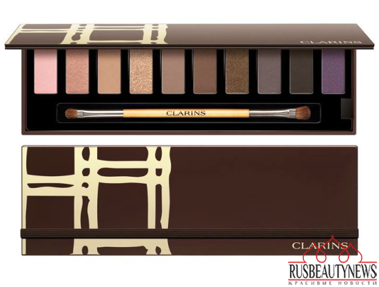 Clarins Festive Eye Makeup Palette Holiday 2015