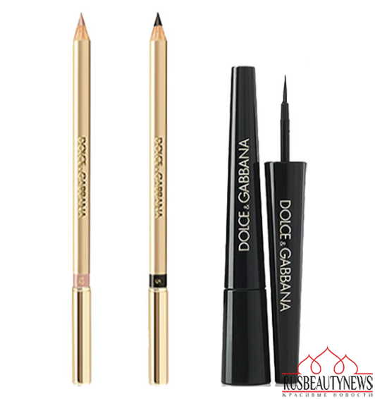 Dolce & Gabbana The Essence of Holidays 2015 Collection eyeliner