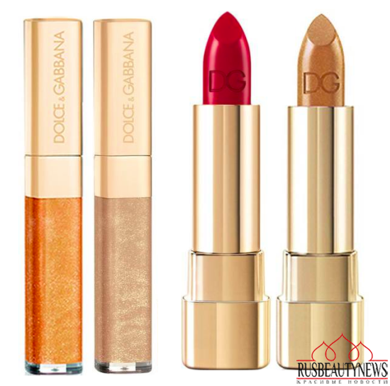 Dolce & Gabbana The Essence of Holidays 2015 Collection lipp