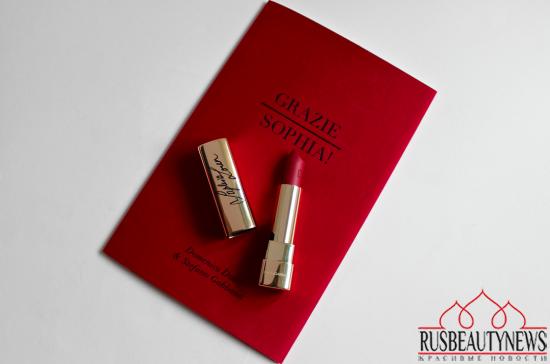 Dolce&Gabbana Sophia Loren No.1 Lipstick Review look2
