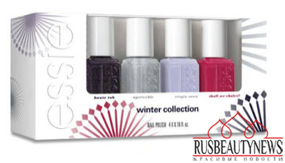 Essie Virgin Snow Collection Winter 2015:16 set