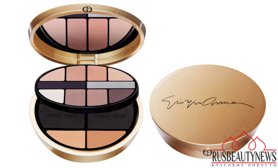 Giorgio Armani Luxe is More Holiday 2015 Collection palette