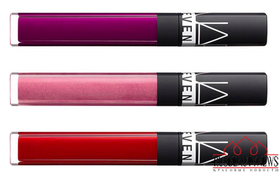NARS Steven Klein Holiday 2015 Collection lip gloss