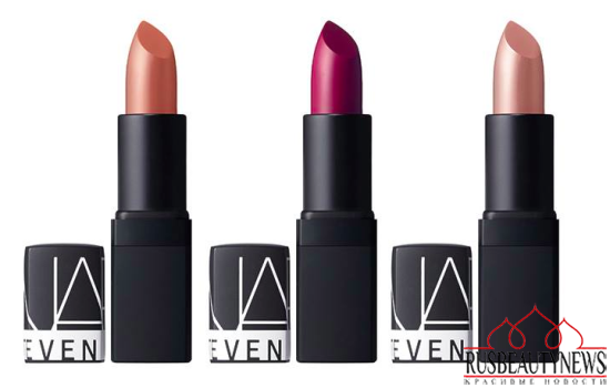 NARS Steven Klein Holiday 2015 Collection lipp