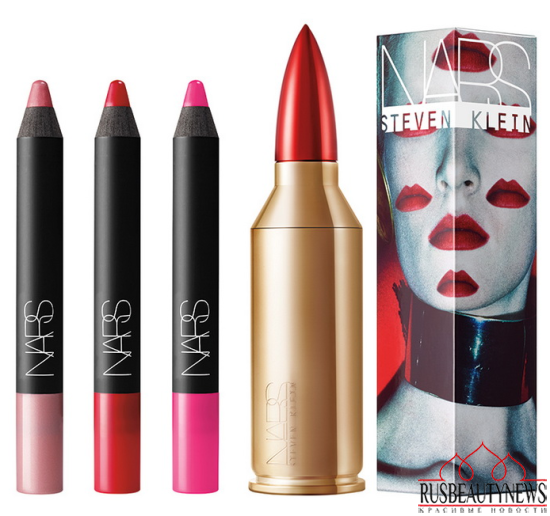 NARS Steven Klein Holiday 2015 Collection lipppens set