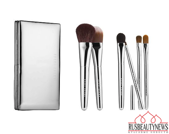 Bobbi Brown Sterling Nights Holiday 2015 Collection brush set