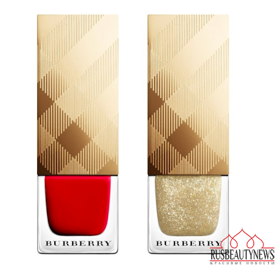 Burberry Festive Beauty Collection for Holiday 2015 nail