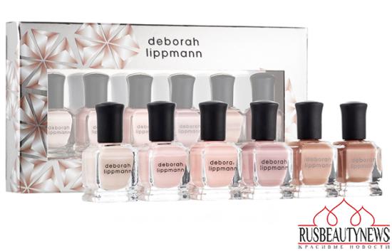 Deborah Lippmann Holiday 2015 Sets&Kits nude