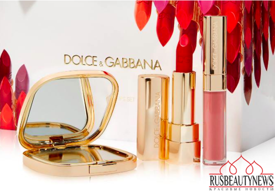 Dolce & Gabbana Holiday 2015 Seductive Lip Set