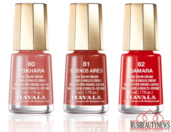 MAVALA SYMPHONIC Color's Fall 2015 Collection color1