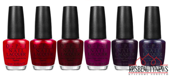 OPI Starlight Holiday 2015 Collection 1