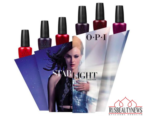 OPI Starlight Holiday 2015 Collection look1