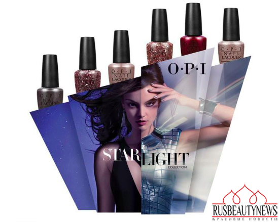 OPI Starlight Holiday 2015 Collection look3