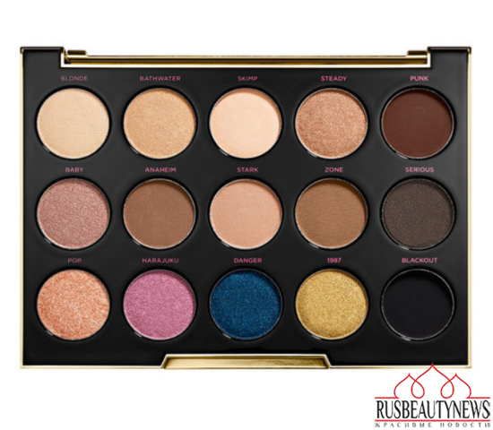 Urban Decay Gwen Stefani Eyeshadow Palette look4