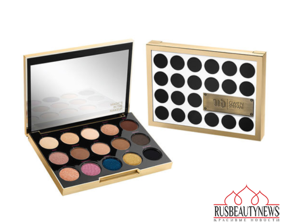 Urban Decay Gwen Stefani Eyeshadow Palette look5