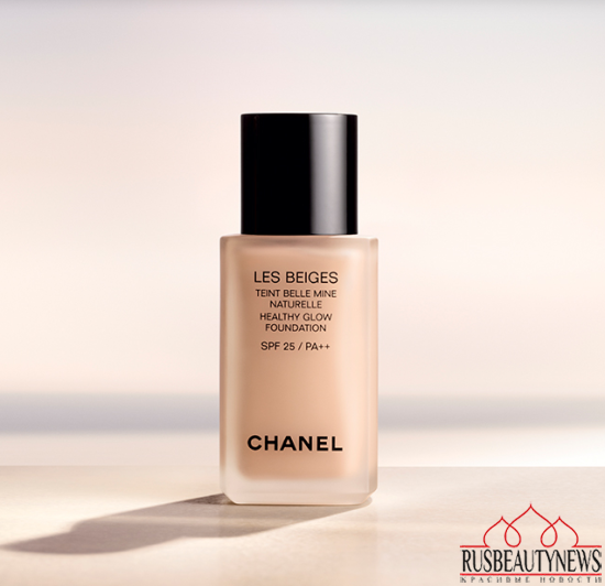 CHANEL Les Beiges Healthy Glow Foundation look1