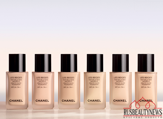CHANEL Les Beiges Healthy Glow Foundation look2