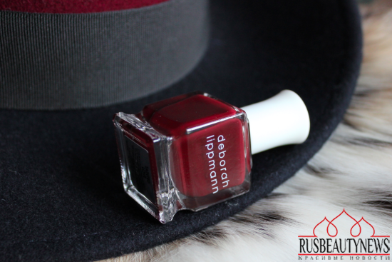Deborah Lippmann Tainted Love Review look1