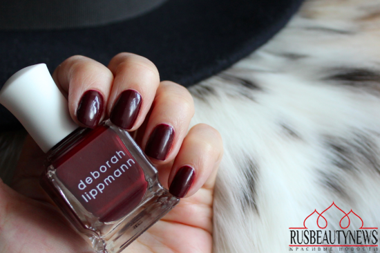 Deborah Lippmann Tainted Love Review swatches