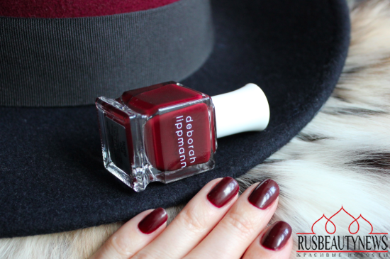 Deborah Lippmann Tainted Love Review  swatches3