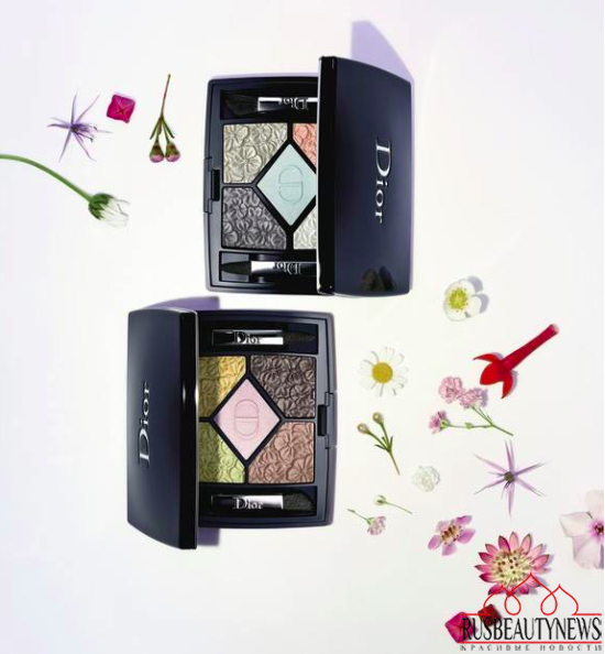 Dior Glowing Gardens Collection Spring 2016 eyeshadow