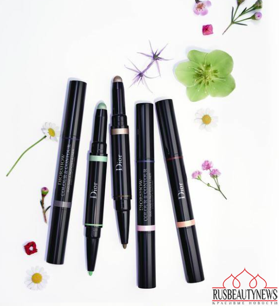 Dior Glowing Gardens Collection Spring 2016 shadow:liner