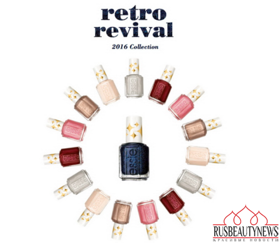 Essie Retro Revival Collection 2016 look