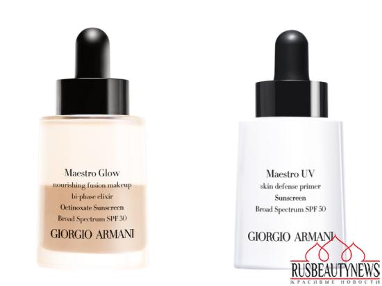 Giorgio Armani Maestro Glow Nourishing Fusion Makeup and Maestro UV Skin Defence Primer