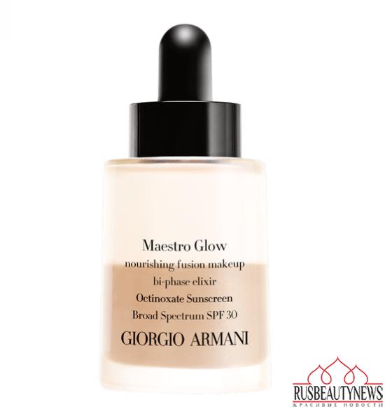 Giorgio Armani Maestro Glow Nourishing Fusion Makeup look1