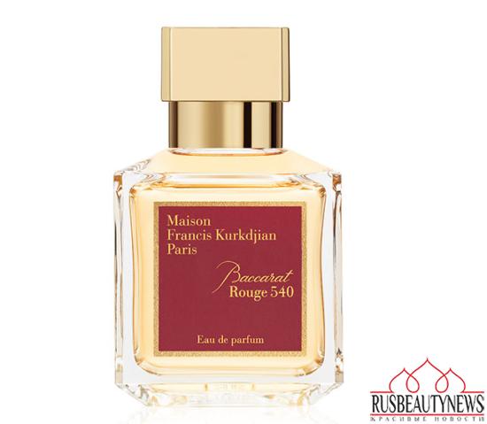 Maison Francis Kurkdjian Baccarat Rouge 540 look