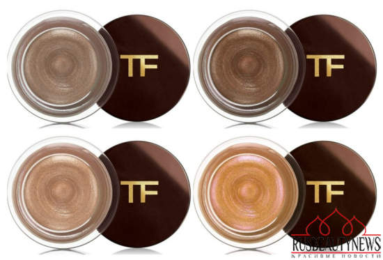 Tom Ford Beauty Runway Collection for Spring Summer 2016 cream shadow