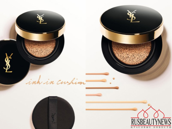 YSL Le Cushion Encre de Peau SPF 23 look3